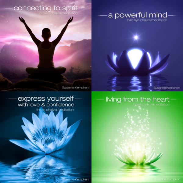 Chakra Meditations Bundle Part 1 - Guided Meditation