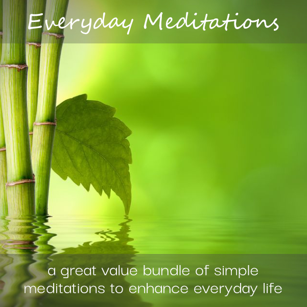 Everyday Meditations - A Short Guided Meditations Value Bundle