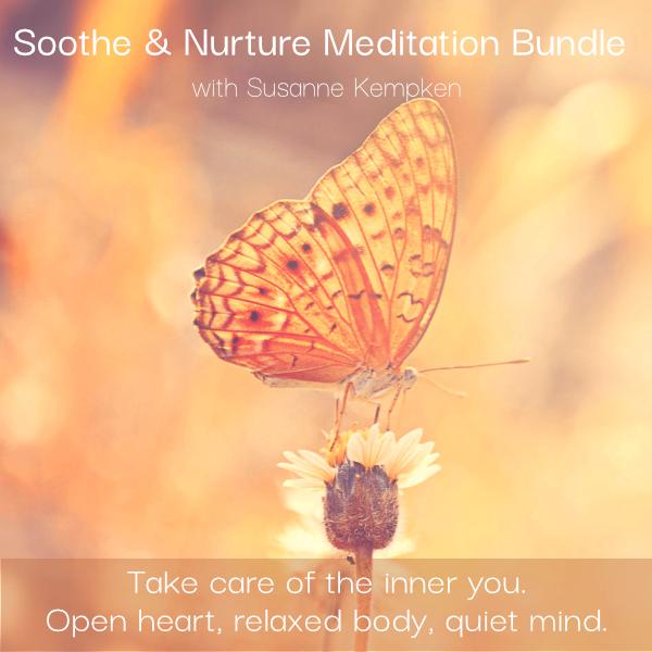 Soothe & Nurture Meditation Bundle with Susanne Kempken