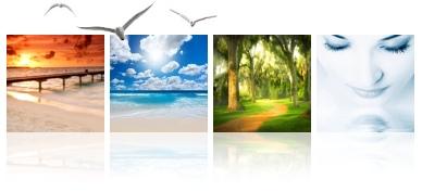 Deep Inner Stillness Guided Meditation Collage